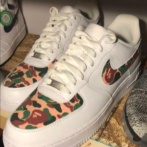 Nike x bape customs